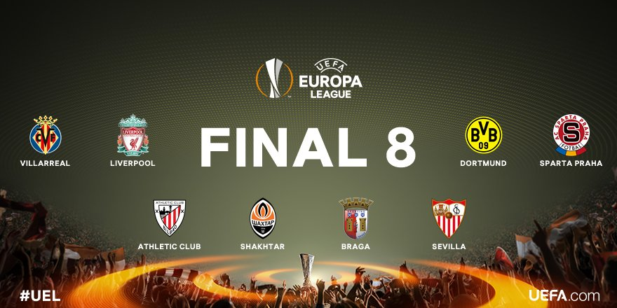 UEFA Europa League (@EuropaLeague) March 17, 2016