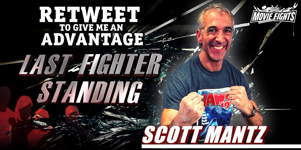 Hey @screenjunkies fans! Support me on next week's #MovieFightsLive #LastFighterStanding! Your RT could help me win! https://t.co/9kEdpbfFFx