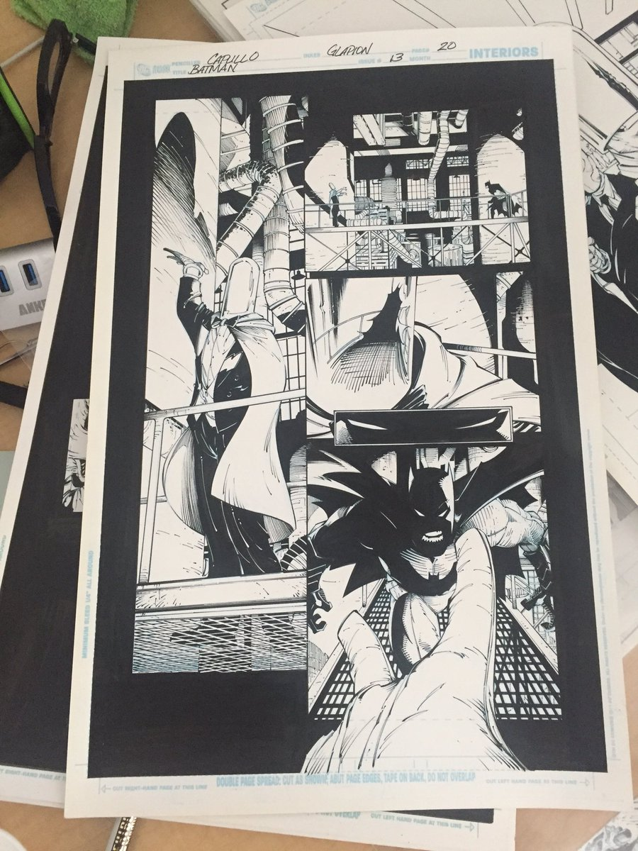 Batman art coming to @c2e2 so be sure to stop by artist alley A16 #batman #original #art #A16 https://t.co/1NRTqXKqRi