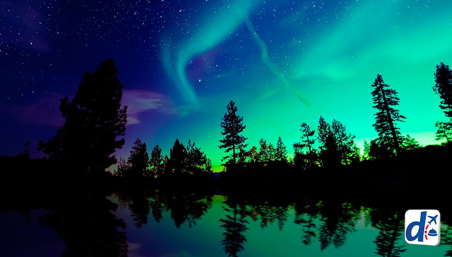 Tener una noche mágica es sentir todos los colores de una #AuroraBoreal. ¡RT si te gustaría vivirla! https://t.co/PtM9dkRFjh
