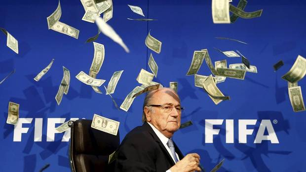 Sepp Blatter was paid $3.76-million amid FIFA scandals of 2015 From @Globe_Sports