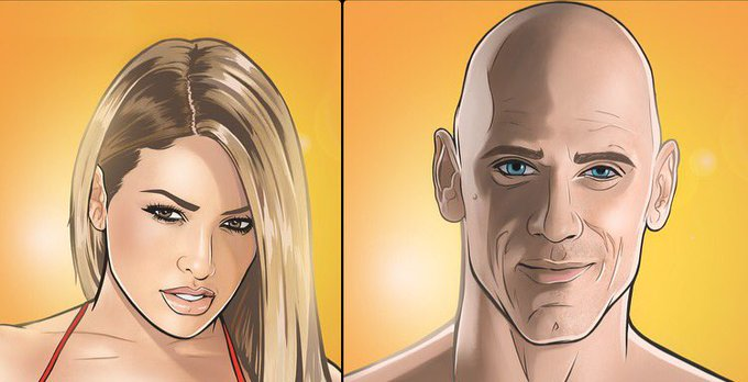 Thank you for our cartoons @TerryAlec ???? @JohnnySins https://t.co/cd3G6G1rId