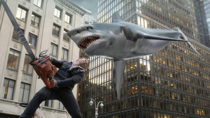 .@Syfy has revealed the premiere date & StarWars-inspired title for Sharknado4 @IanZiering