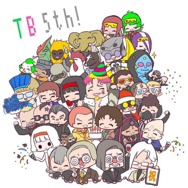 あなたたちがいたからヒーローが輝けた。ありがとう!タイバニ5周年おめでとう! #タイバニ5周年おめでとう #祝タイバニ五周年 https://t.co/g8Sfgvz6kJ