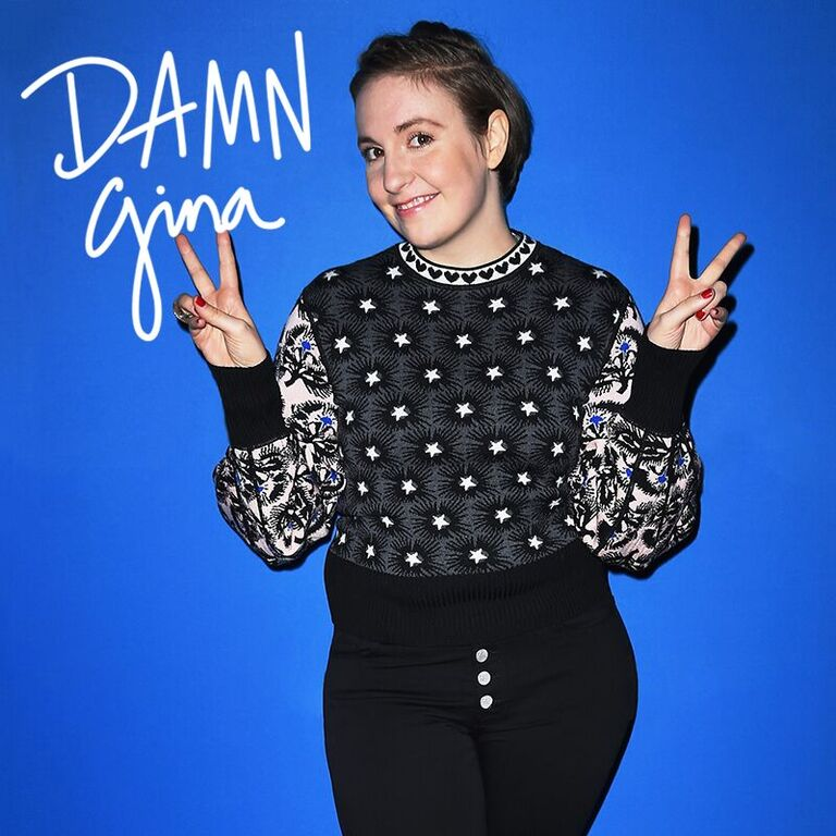 #DamnGina! @lenadunham, you're my sister from another mister!!! More on khloewithak!!! https://t.co/KIN62kMPAl https://t.co/IBGfZw26LB