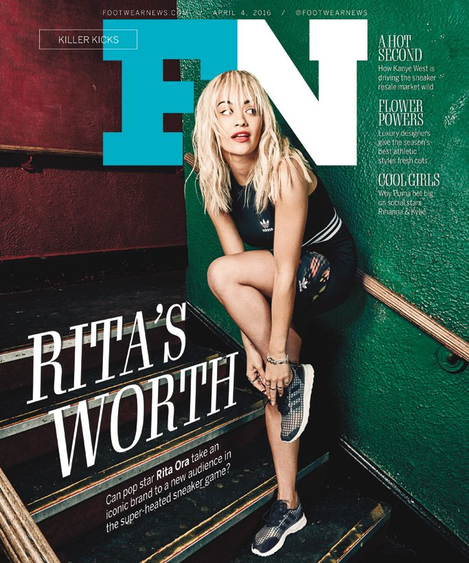 RT @FootwearNews: Cover star @RitaOra opens up about her