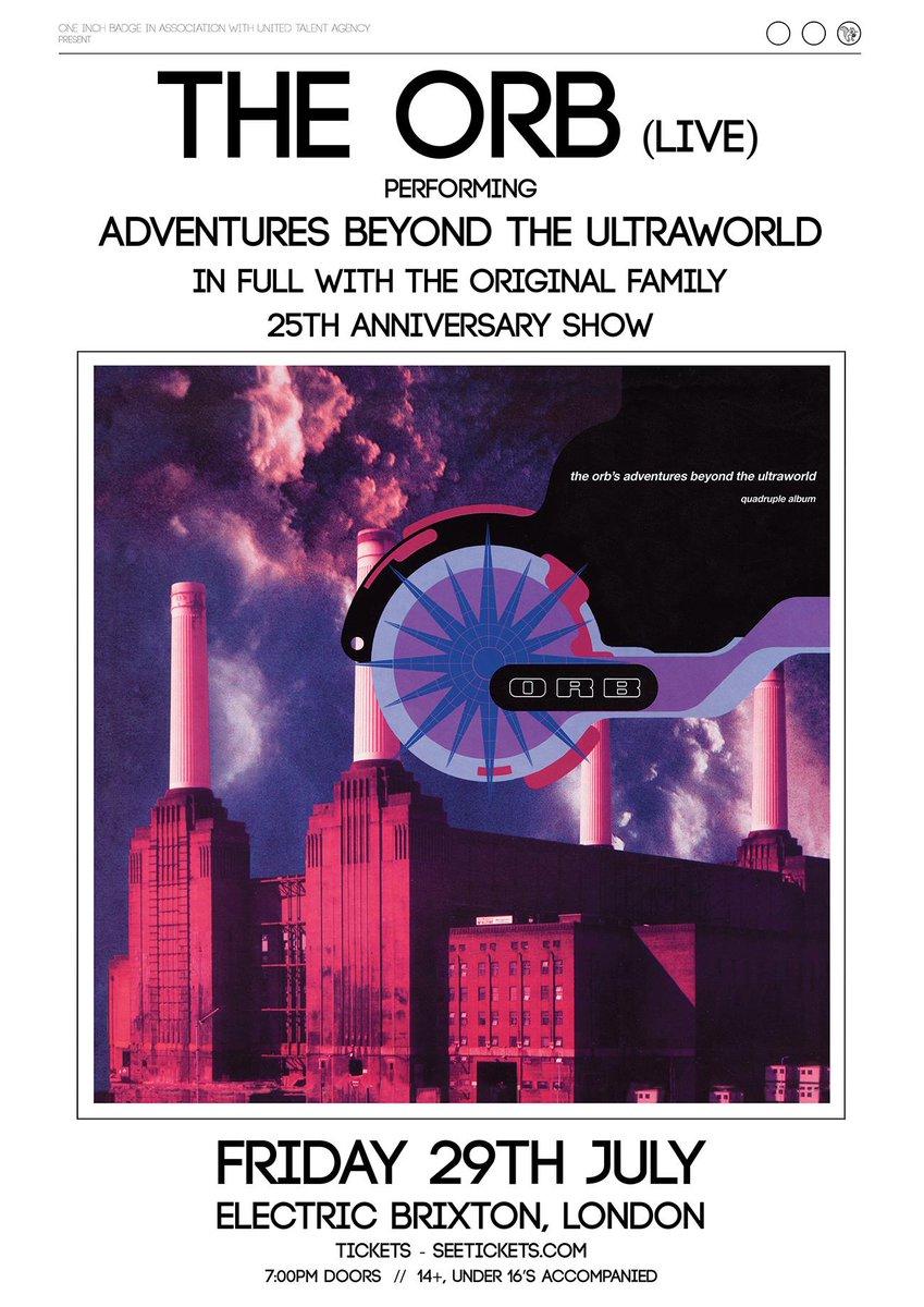 ADVENTURES BEYOND THE ULTRAWORLD - 25th Anniversary show July 29th - Tickets: https://t.co/qddlGb7oW5 https://t.co/t7b9xHcvLf
