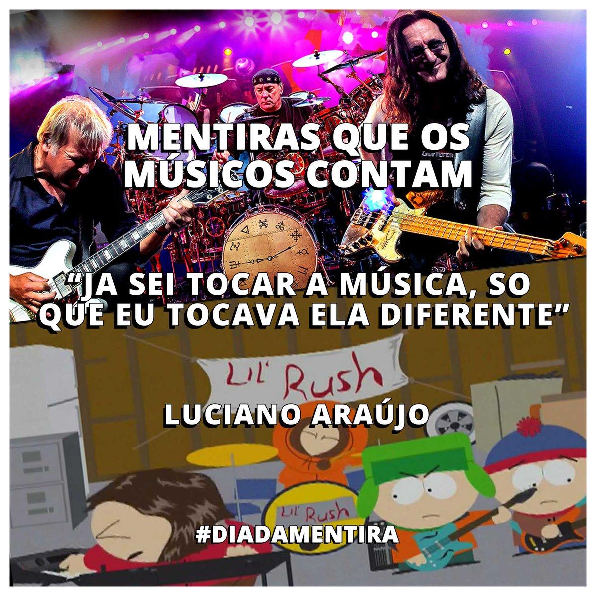 Todo mundo finge que acredita! Luciano Araújo #diadamentira #music https://t.co/svRzKZYWCY
