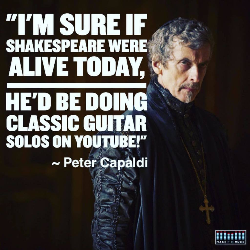 All of us need to move with the times and grasp the opportunities that the world offers. #drwho #petercapaldi https://t.co/9P2V1lZws3
