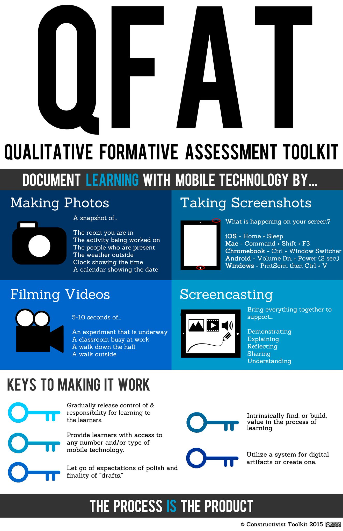Qualitative formative assessment with your camera. Thanks @tmmartindell for sharing! #edchat #edtechchat #dtsdchat https://t.co/j1xO1MU4Uh