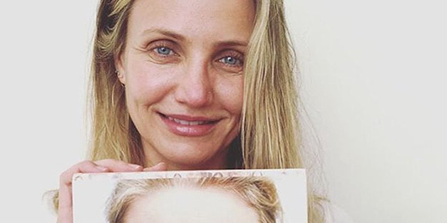 Cameron Diaz celebrates her age with striking makeup-free selfie