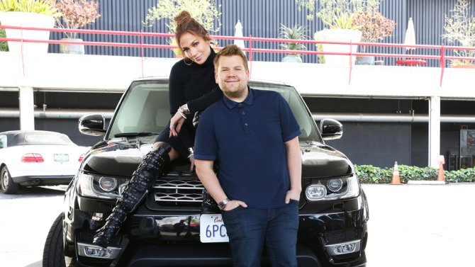 See Jennifer Lopez and James Corden prank-text Leonardo DiCaprio on