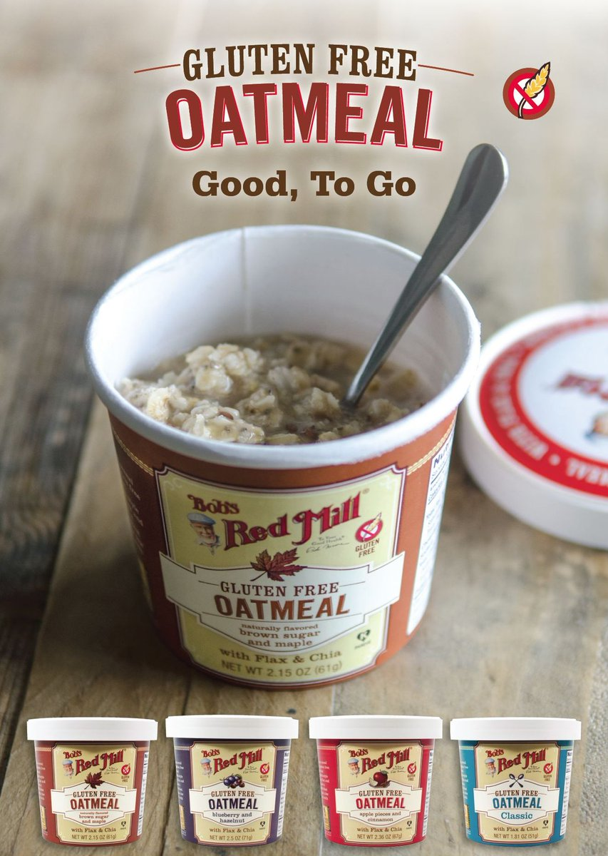 It's #SampleWholeGrains day! Enter to win our #glutenfree oatmeal cups- every hour 9-4 PT. RT to enter. US/Can only. https://t.co/Mlgl0ZRl0i