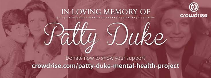 On #WorldBipolarDay please help honor my mom #PattyDuke's memory by supporting. TY https://t.co/0ol8BOxVnd https://t.co/JLiS6r8Rek