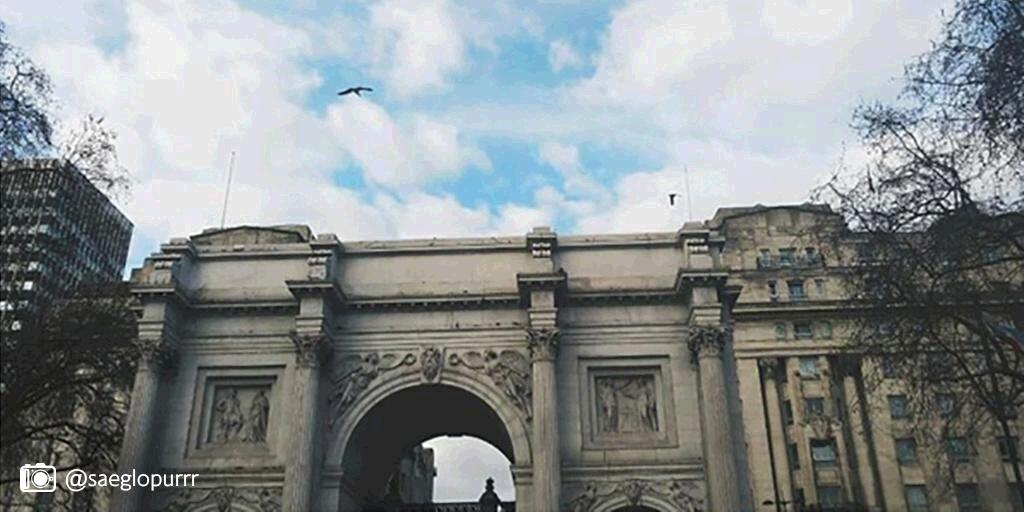 Marble Arch was designed to be the entrance to Buckingham Palace.