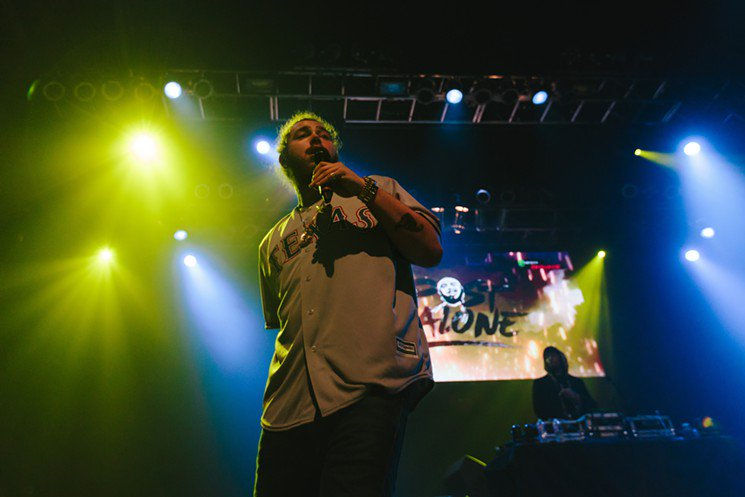 It's official: @PostMalone is from Dallas (again). Just ask him https://t.co/cufKqLevNm https://t.co/LwV9qbJSKX