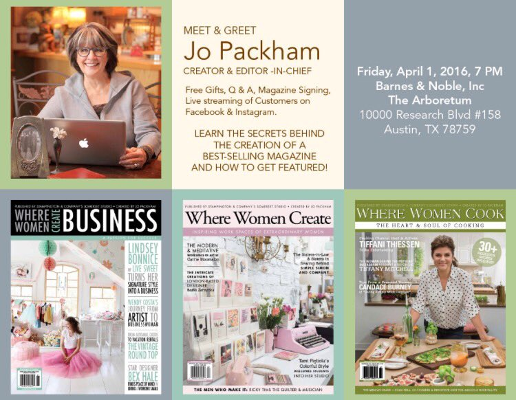 Do you want to know how YOU could be featured in one of our three beautiful magazines?  Please join us tomorrow!! https://t.co/Kog2M8lhiY