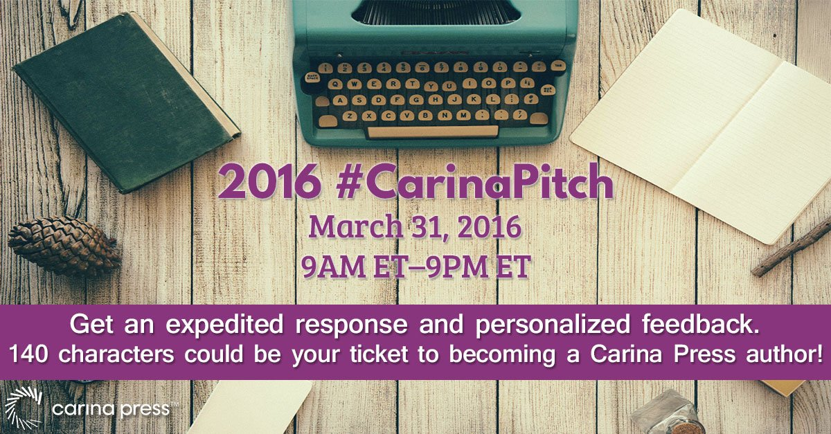 Today's the day! Get expedited response &personalized feedback via #CarinaPitch—1 day only!  https://t.co/M3w9XcBMU6 https://t.co/dHhz5evwIo
