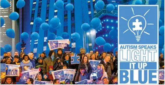 Light It Up Blue! April 2nd is World Autism Awareness Day! Pledge to #WearBlue with @AutismSpeaks #LIUB https://t.co/rIsGZ2X8pe