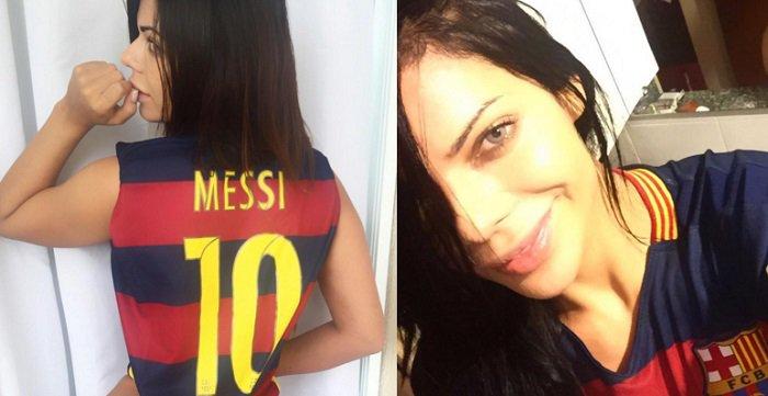 RT @tribunSUPERBALL: Jelang El Clasico, Pemilik Bokong Terbaik Brasil Tak Sabar Lihat Penampilan Lionel Messi https://t.co/m7thWQ4JgS https…