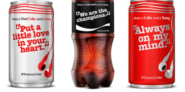 .@CocaCola  ditches names in favor of song lyrics for summer campaign: https://t.co/1xZsGgcZIV #brand #marketing https://t.co/LEmGQZUtQY