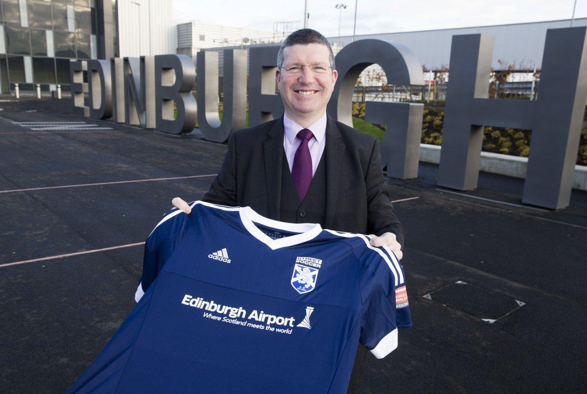 RT @streetsoccerSCO: @Gordon_Dewar & @Edi_Airport backs @StreetSoccerSCO and Scotland Homeless World Cup team. http…