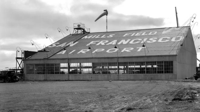 RT @AAAEDelivers: Hangar No. 1 at Mills Field (now part of @flySFO) in 1928. More pics here: TBT airports https:/…