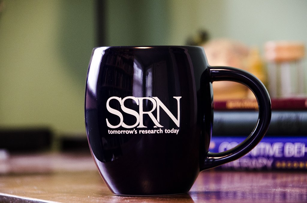 Need a place to put your April knowledge flowers? How about an SSRN mug! RETWEET to enter the drawing to win one. https://t.co/hVbqYTNX9g