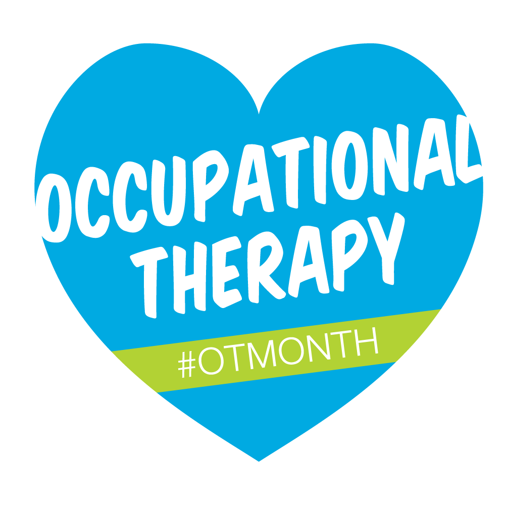 #OTMonth starts TOMORROW. Share or use this as a profile pic to promote #occupationaltherapy https://t.co/1arpVNPR2I https://t.co/nAyj2L5VJQ