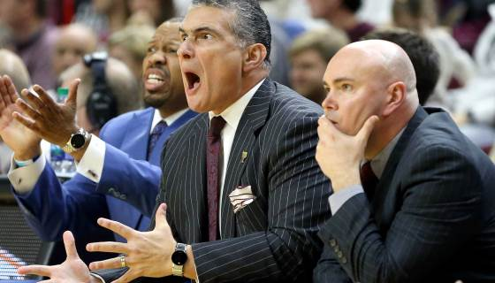 NCAA mistakenly told South Carolina they had made tournament via @NBCSports