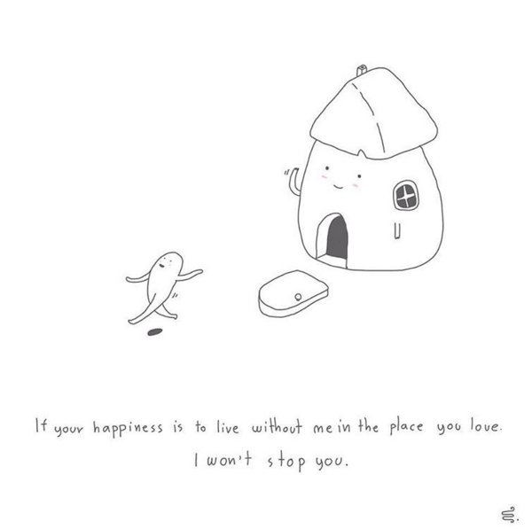 Cute simple drawings that accurately describe loneliness for Simple but cute drawings