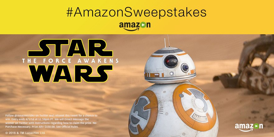 Follow + RT for a chance to win a BB-8 @Sphero from #TheForceAwakens, here to own! Rules: https://t.co/68M36A58jw https://t.co/sRR7po5TbM
