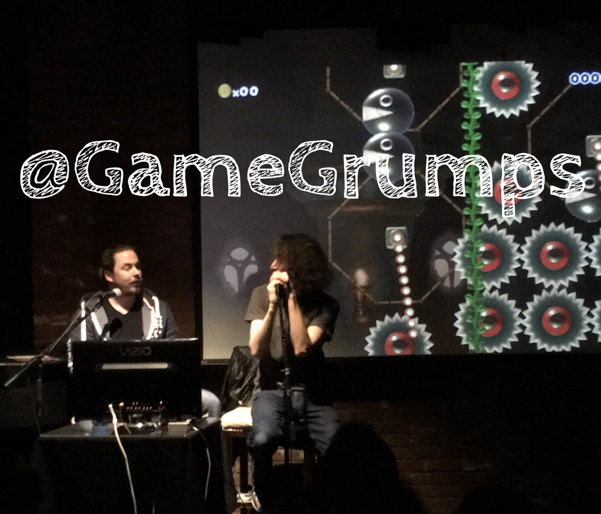 .@GameGrumps ELECTRIC LIVE GAMING @HollywoodImprov!!! https://t.co/FTgBCF4dkG