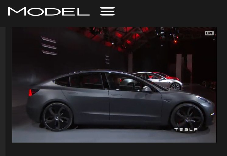The @TeslaMotors #Model3 - due out at the end of next year. $35K. Thinking I would like one of these little guys. https://t.co/SY7aRb6nwE