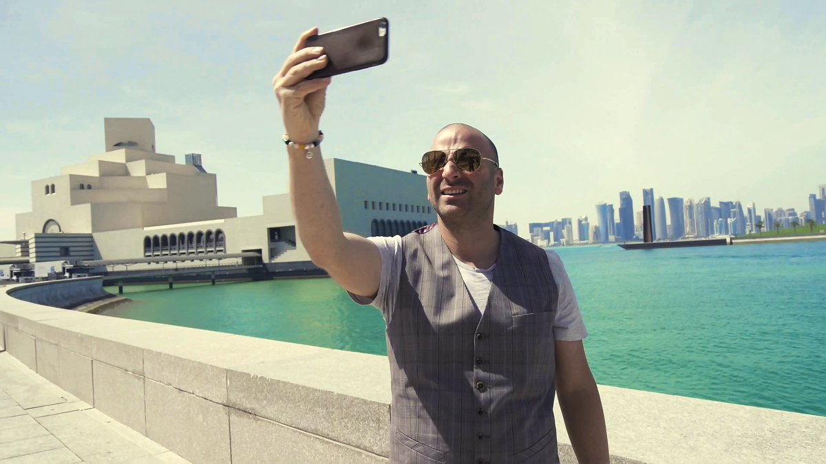 We invited @gcalombaris to experience Qatar's unique sights and culture. Watch his journey: