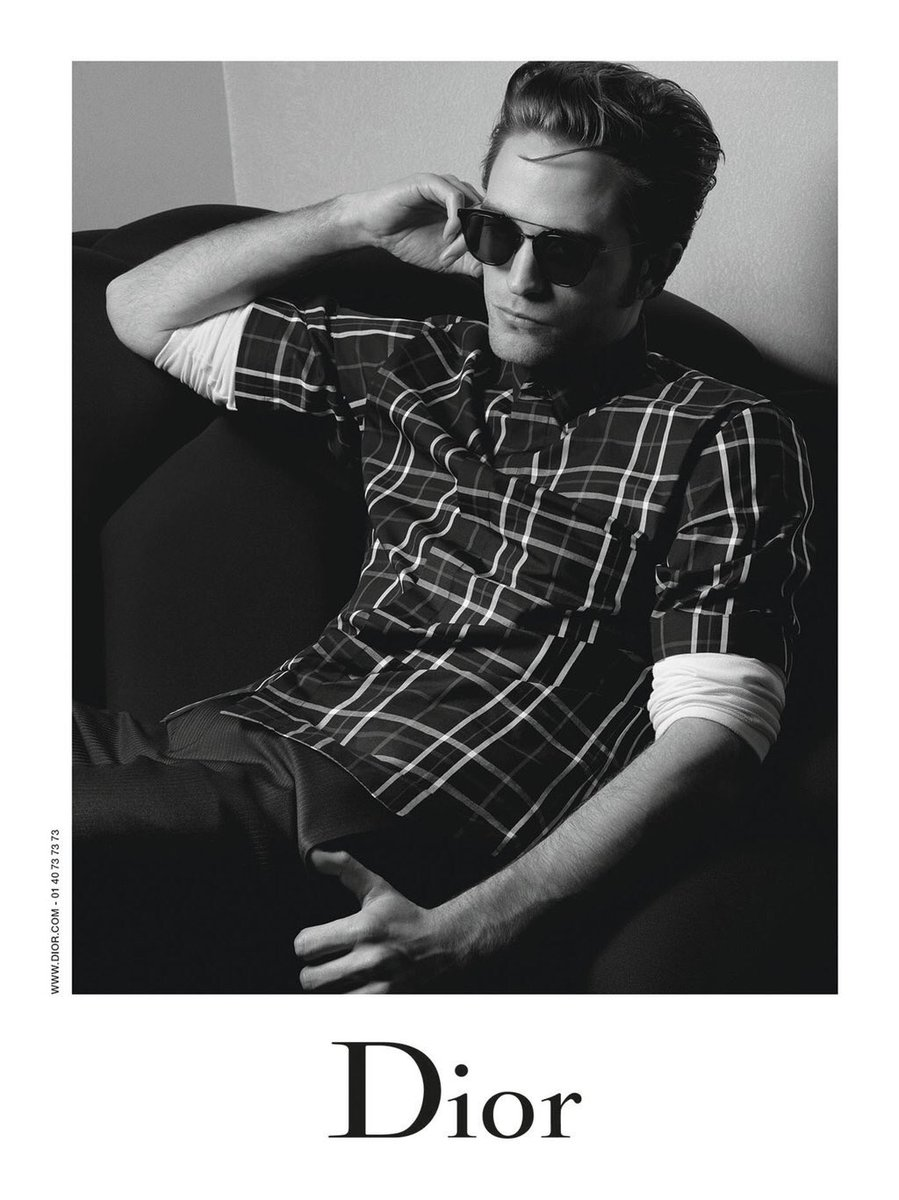 Today is the day for @Dior New Menswear Campaign featuring Robert Pattinson! Happy #DiorRob day
