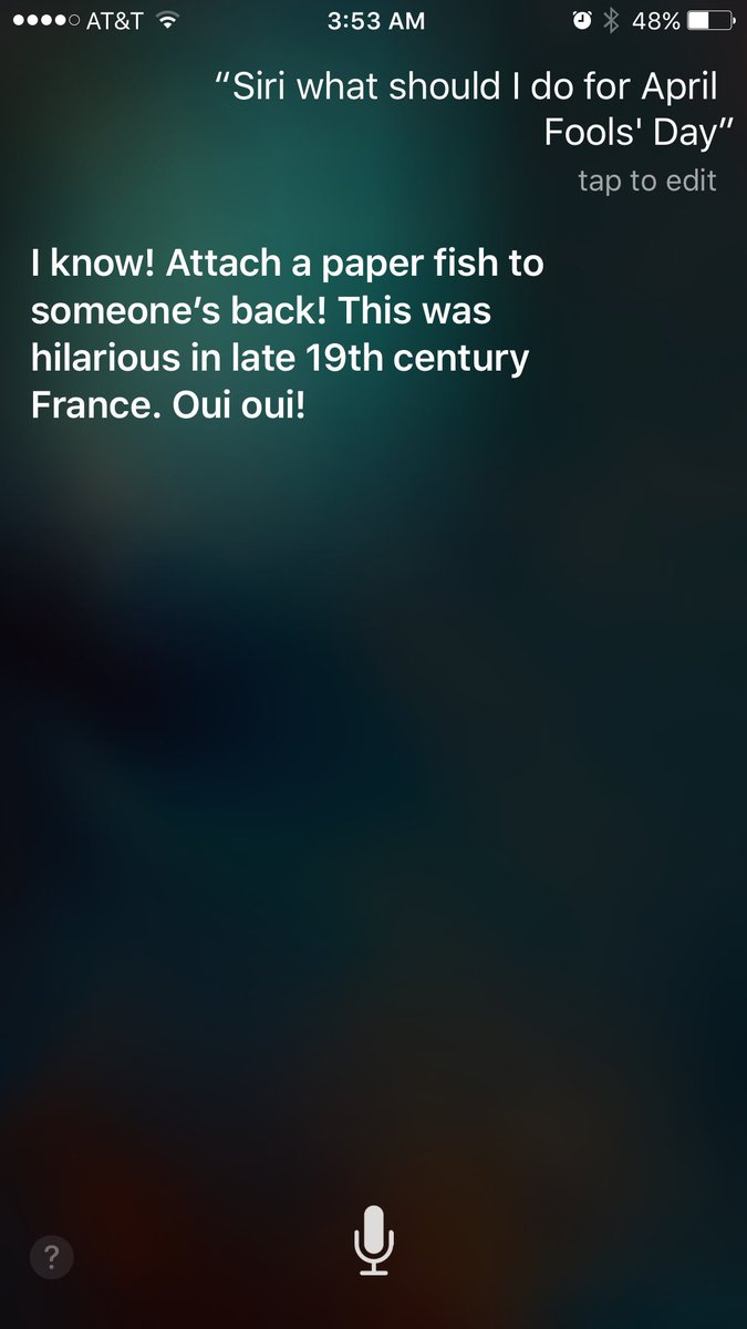 Can't sleep so I asked Siri about April fools https://t.co/MCG6socCv1