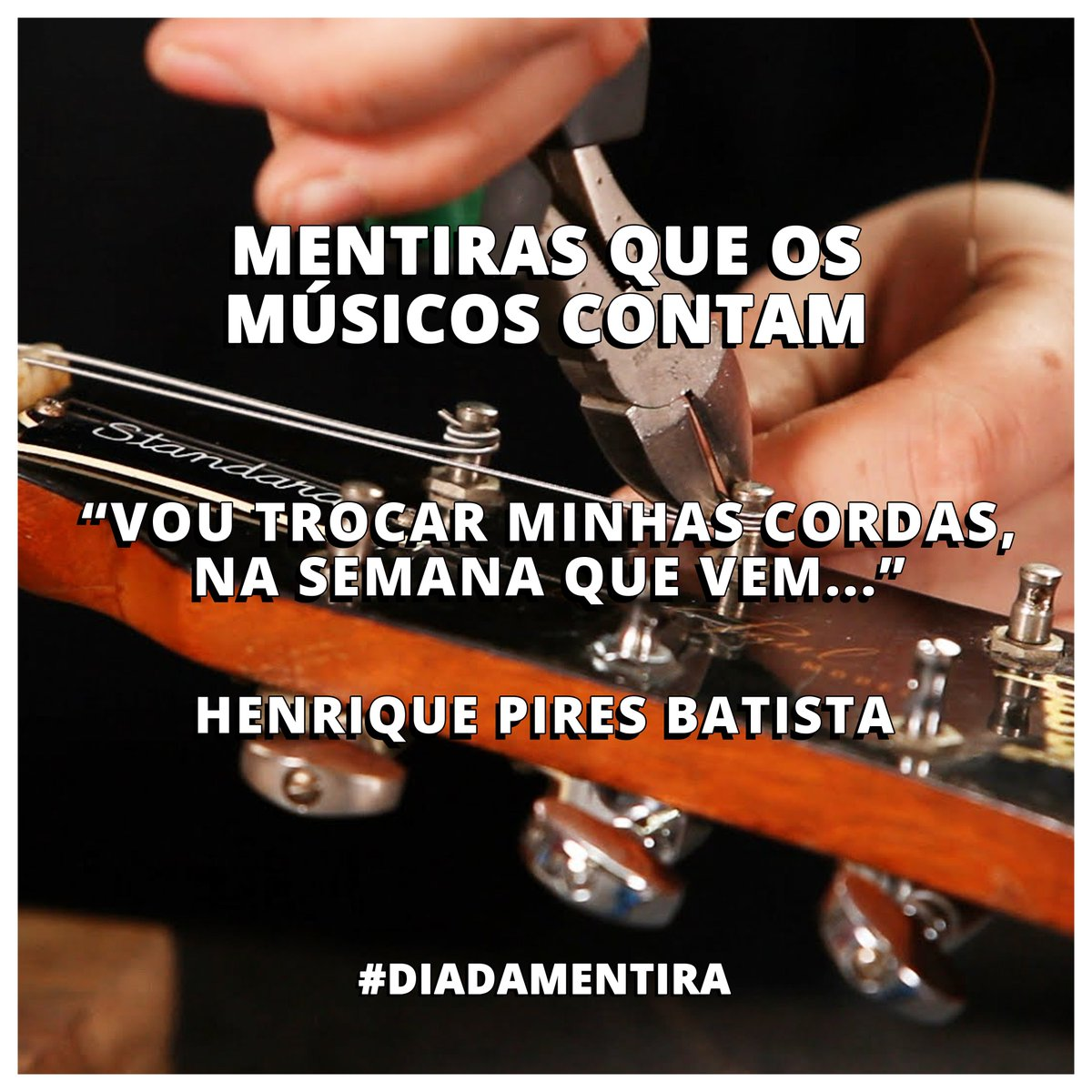 Quem já não disse essa! Henrique Pires Batista #diadamentira https://t.co/qQ7Wv1Bymr