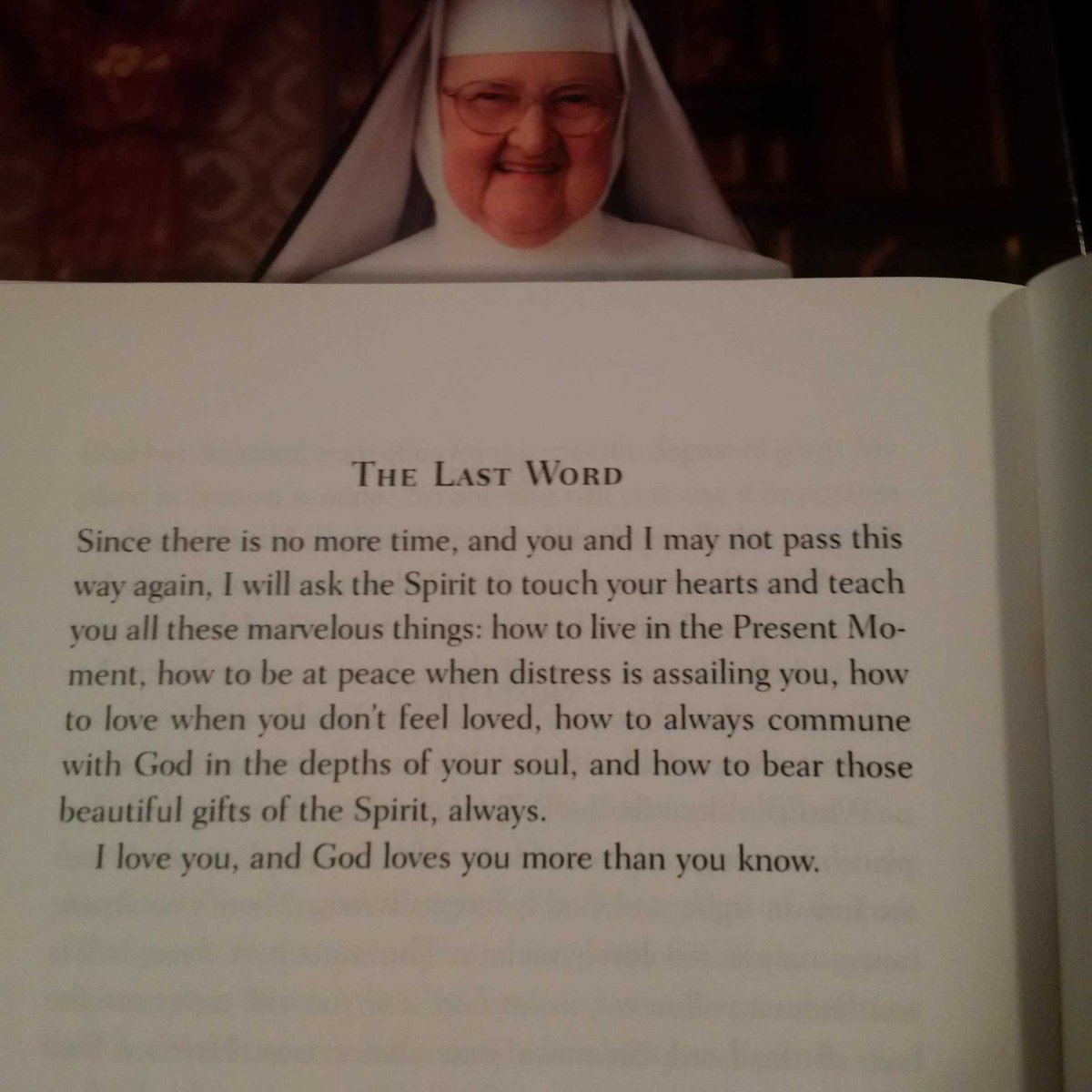 """#MotherAngelica """"The Last Word"""" and they are hers! This is from MA's Little Book of Life Lessons: https://t.co/60NSrk5bYE"""