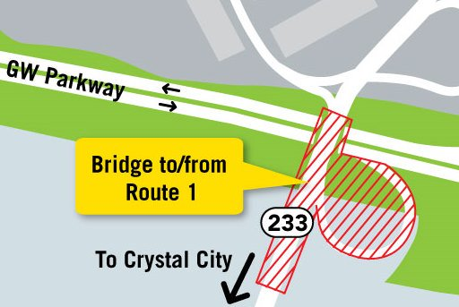 Weekend roadwork starts 11pm tonight. Expect delays, consider alt. routes