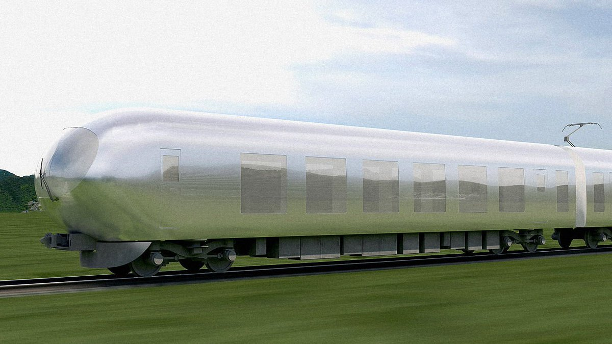 Lovely: Japan's newest trains are designed to be invisible https://t.co/dzs0nCHIjc https://t.co/CeTcVCxGbk
