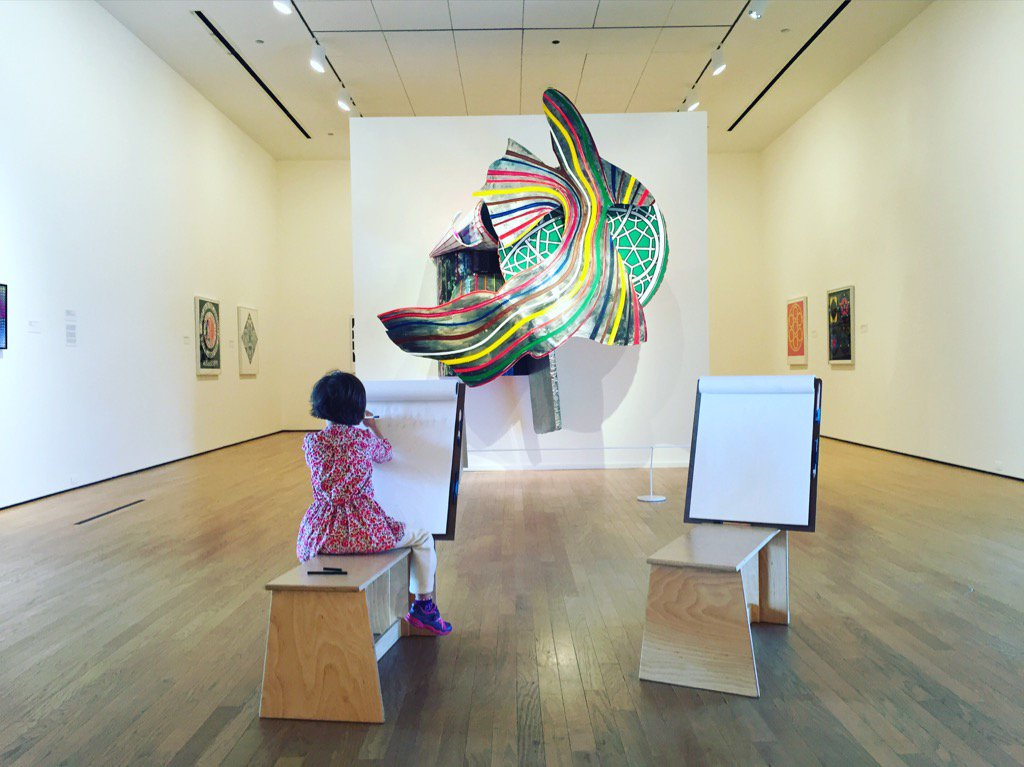 Children are the future and we love to inspire their artistic talents at OKCMOA. #futureMW #MuseumWeek https://t.co/GWErcmWDGh