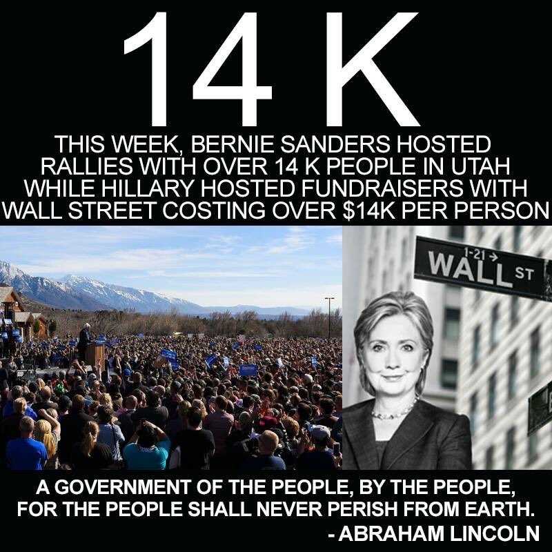 This week @People4Bernie @BernieSanders  #bythepeople #stillsanders #14k #azprimary #utprimary #IDPrimary https://t.co/cW9YeSN1TP
