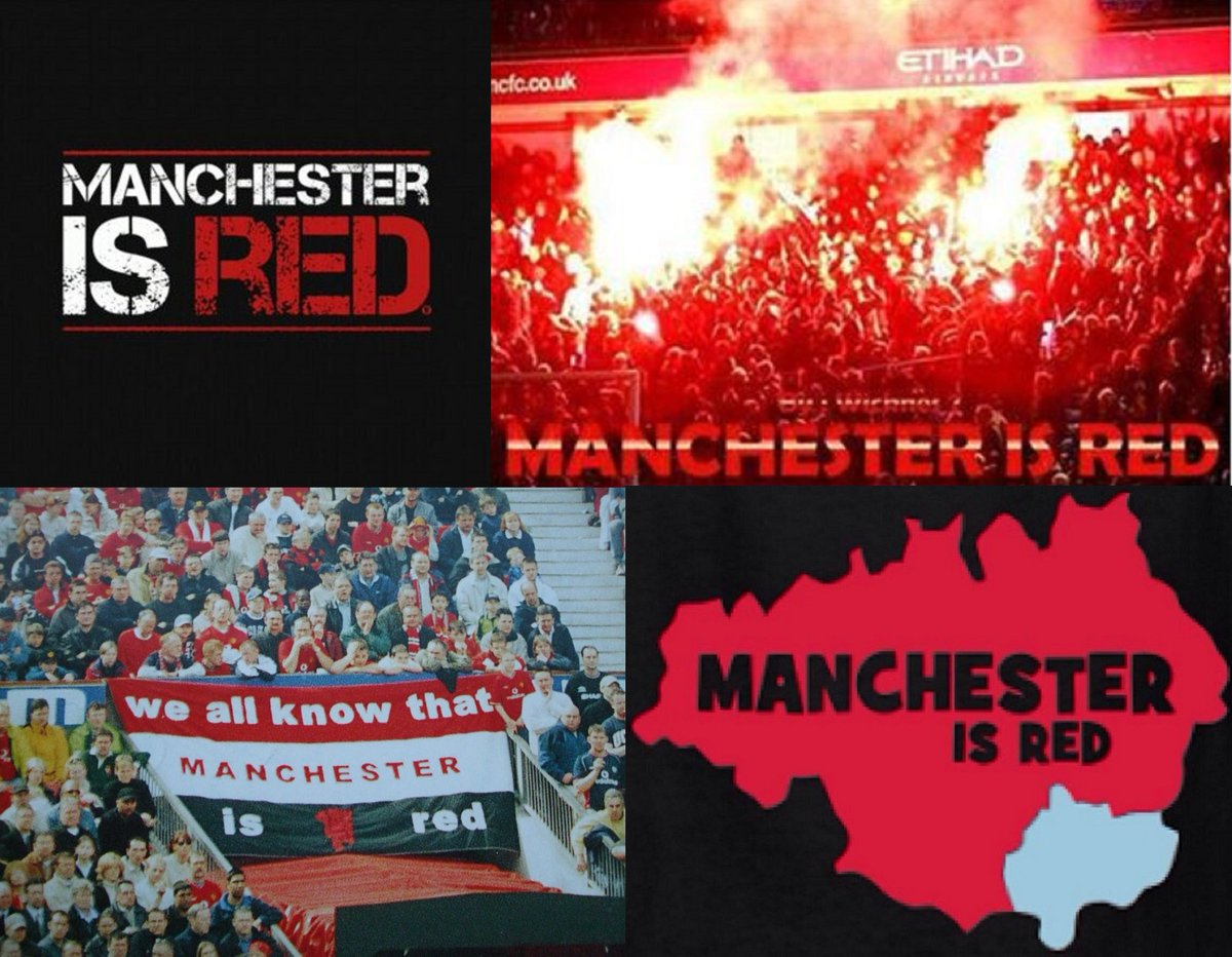 Manchester Is RED.   #mufc  #manutd  #manchesterunited https://t.co/gb9ZzicbSs