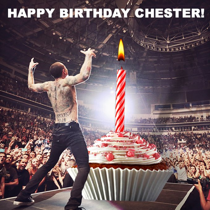 Wishing @ChesterBe a Happy Birthday today. https://t.co/v9neyLOgfi https://t.co/nCAcSqZYUS