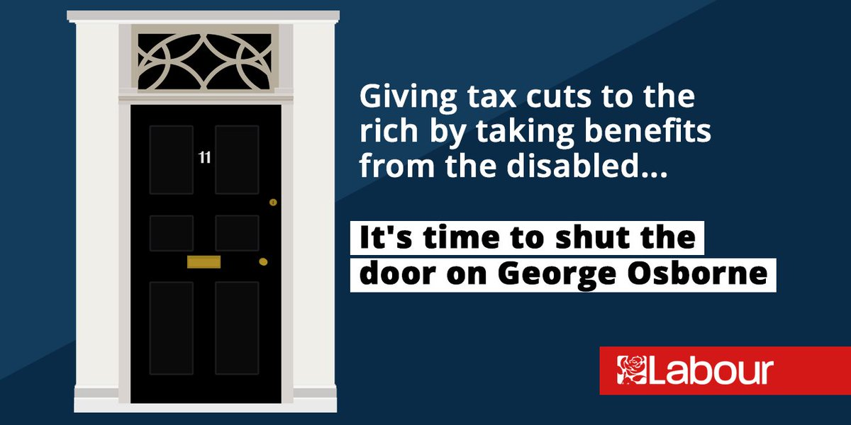 Osborne planned to take from the disabled to give to the rich. We believe that is wrong, RETWEET if you do too. https://t.co/2G3ScreKWp