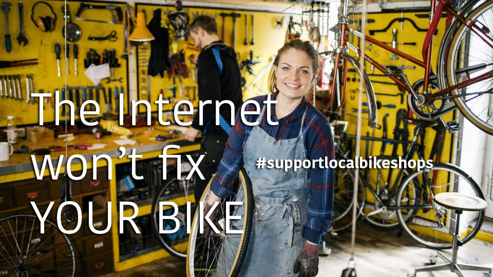 Use it or lose it: you'll miss bike shops when they're gone. https://t.co/3RLCrQJyPe #supportyourlocalbikeshop https://t.co/dbWyeVmNVz