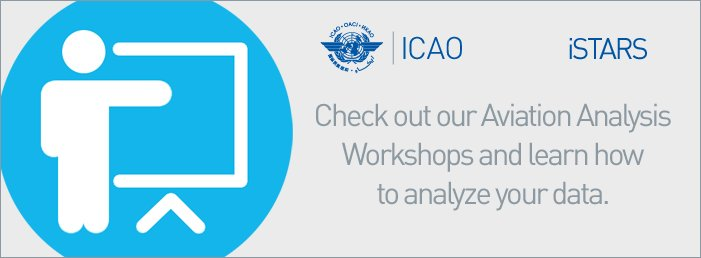 Check out our Aviation Analysis Workshops