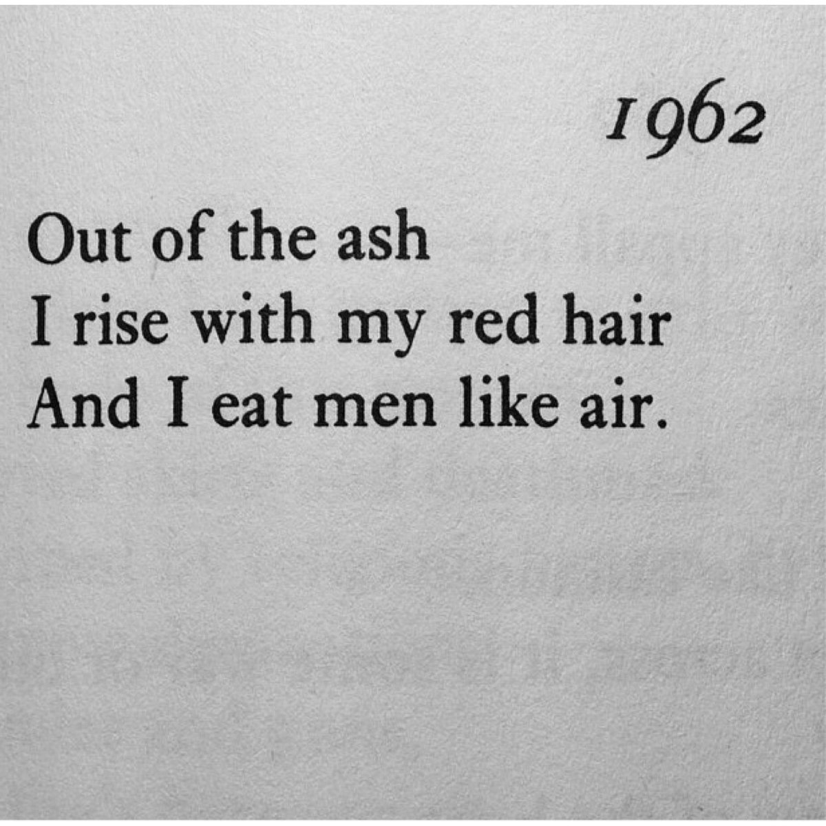 My love of Sylvia Plath has reignited lately. #WorldPoetryDay https://t.co/A5LpXNUL5e