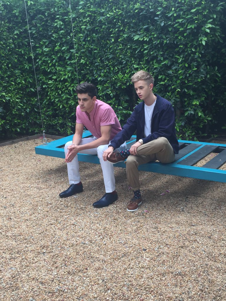 Photoshoot time with @JackAndJackReal!